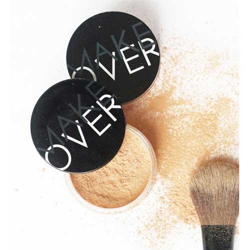 Bedak Untuk Kulit berminyak - Make Over Silky Smooth Translucent Powder
