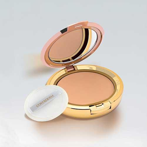 Bedak untuk kulit berminyak - Coverderm Compact Powder