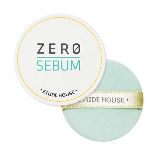 Bedak untuk kulit berminyak - Etude House Zero Sebum Drying Powder