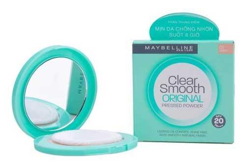 Bedak untuk kulit berminyak - Maybelline Clear Smooth Pressed Powder