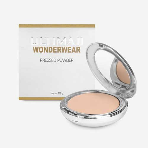 Bedak untuk kulit berminyak - Ultima II Wonderwear Pressed Powder