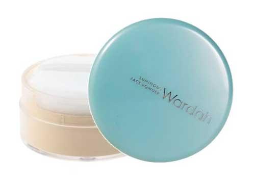 Bedak untuk kulit berminyak - Wardah Luminous Face Powder