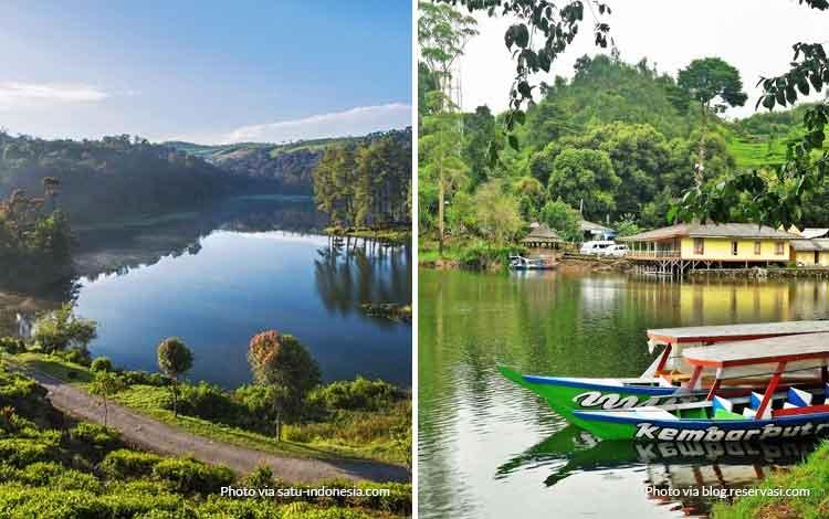 Danau Situ Patenggang - tempat wisata favorit Bandung
