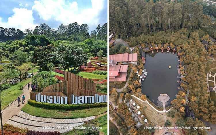 Dusun Bambu - Tempat wisata favorit Bandung