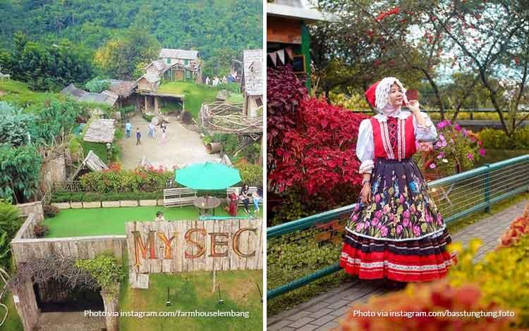 Farm House Lembang - Tempat wisata favorit Bandung