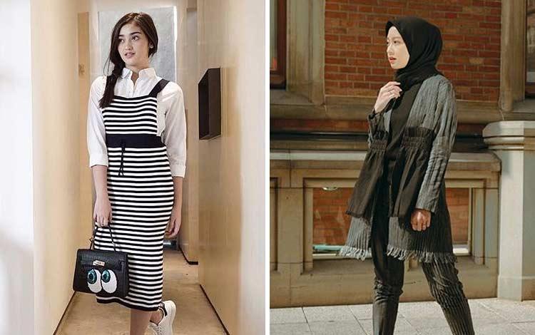Inspirasi Outfit Feminim Kekinian Ala Para Selebriti