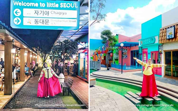 Little Seoul Bandung - Tempat wisata favorit Bandung