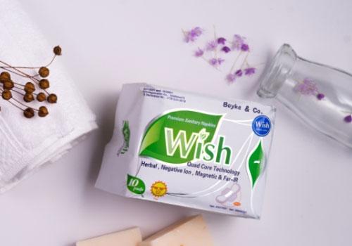 Merek pembalut wanita bagus - Wish Premium Sanitary Napkin Day