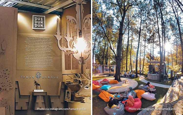 Taman Kardus - Tempat Wisata favorit Bandung