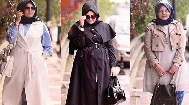fashion hijab wanita gemuk