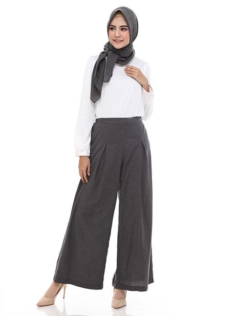 Hijab dengan celana high waist