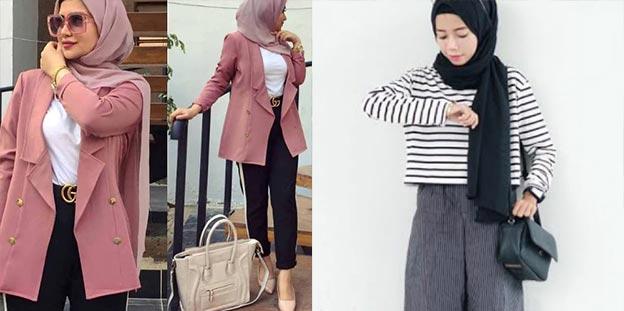 hijab resmi dan hijab casual