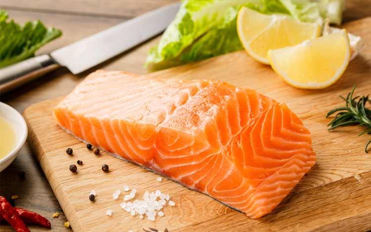 Ikan salmon untuk diet