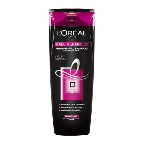 Shampo rambut rontok - L'oréal Paris Fall Repair 3X Anti Hair Fall Shampoo