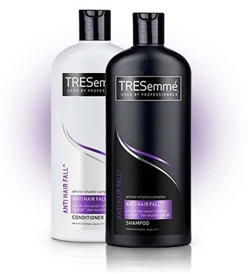 Shampo rambut rontok - Unilever TRESemme Anti Hair Fall Shampoo