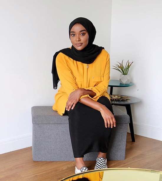 Style hijab sesuai warna kulit