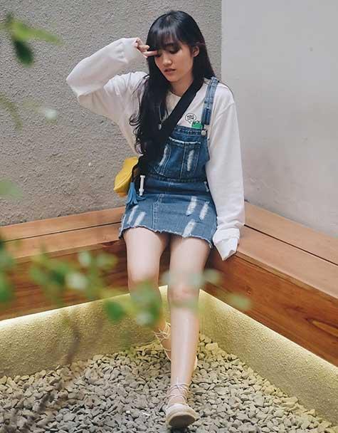 Artis Indonesia fashion style inspiratif - Feby Rastanti