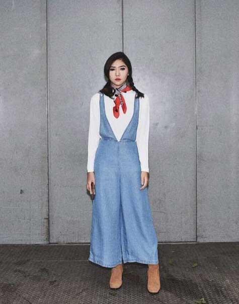 Artis Indonesia fashion style inspiratif - Isyana Saraswati