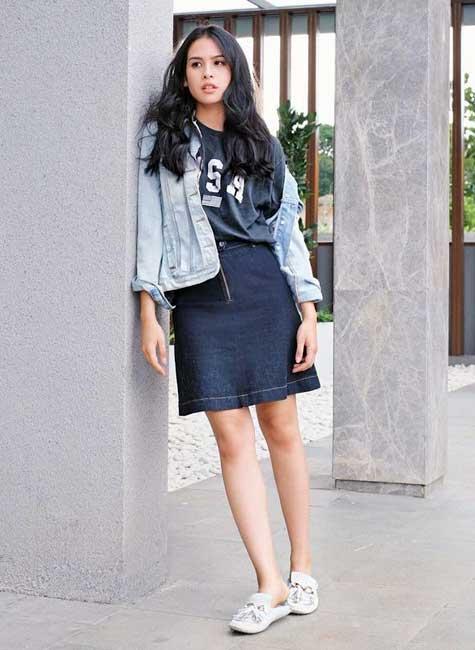 Artis Indonesia fashion style inspiratif - Maudy Ayunda
