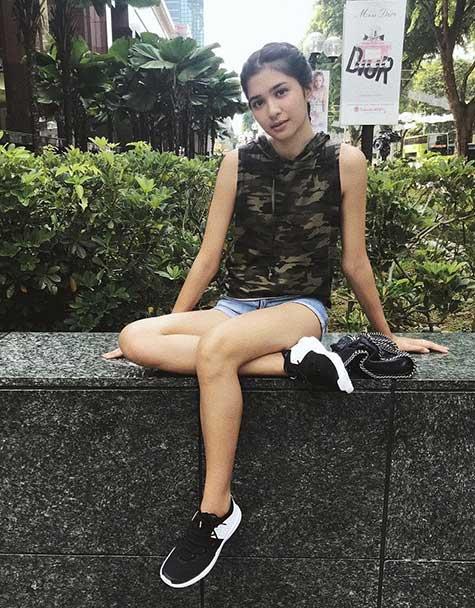 Artis Indonesia fashion style inspiratif - Mikha Tambayong