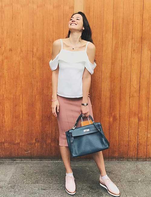 Artis Indonesia fashion style inspiratif - Pevita Pears
