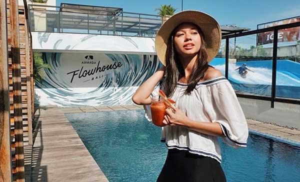 Artis Indonesia fashion style inspiratif - Yuki Kato