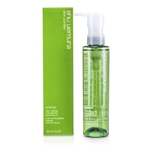 Cleanser untuk kulit sensitif dan berjerawat - Shu Uemura Anti / Oxi Skin Refining Anti-Dullness Cleansing Oil