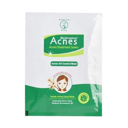Face mask dan face scrub untuk kulit sensitif dan berjerawat - Acnes Oil Control Mask
