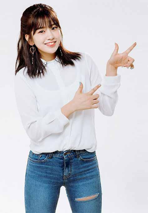 Fashion Style Kuliah Ala An Yu Jin IZONE