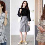 10 Inspirasi Fashion Style Kuliah Untuk Mahasiswi Ala Korea