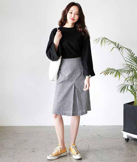 Fashion Style Kuliah Ala Korea