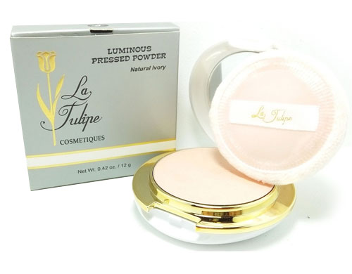 Bedak Glowing - La Tulipe Luminous Pressed Powder