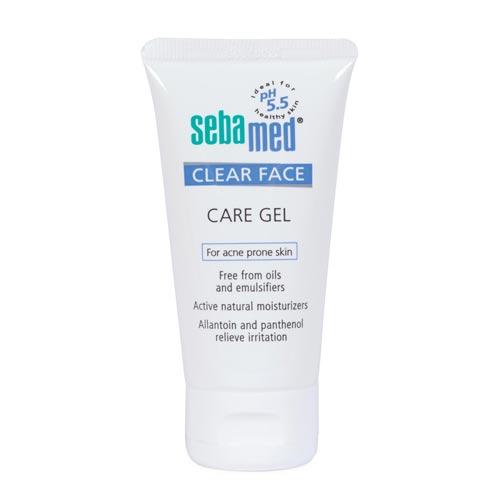 Moisturizer untuk kulit sensitif dan berjerawat - Sebamed Clear Face Care Gel