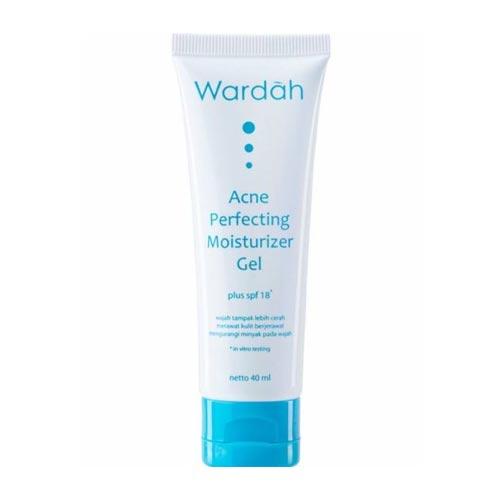 Moisturizer untuk kulit sensitif dan berjerawat - Wardah Acne Perfecting Moisturizer Gel