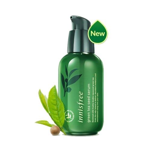 Serum untuk kulit sensitif dan berjerawat - Innisfree Green Tea Seed Serum