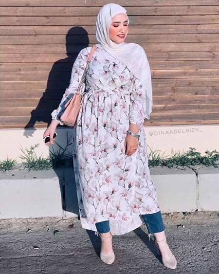 Fashion hijab untuk wanita gemuk