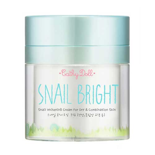 Krim penghilang jerawat - Cathy Doll Snail Bright Whitening Cream