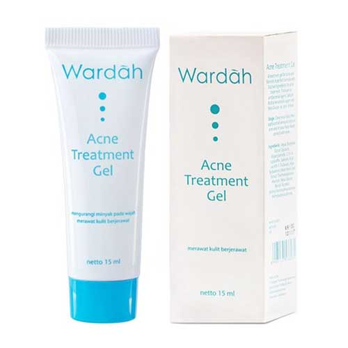 Krim penghilang jerawat - Wardah Acne Treatment Gel