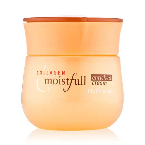 Pelembab wajah bagus - Etude House Moistfull Collagen Enriched Cream