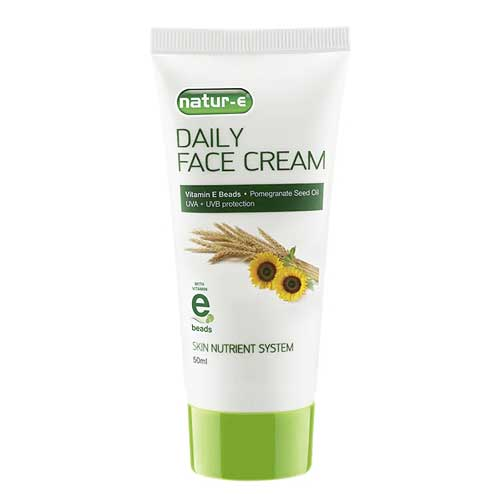 Merek pelembab wajah bagus - Natur E Daily Face Cream