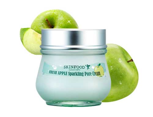 Pelembab wajah bagus - Skinfood Fresh Apple Sparkling Pore Cream