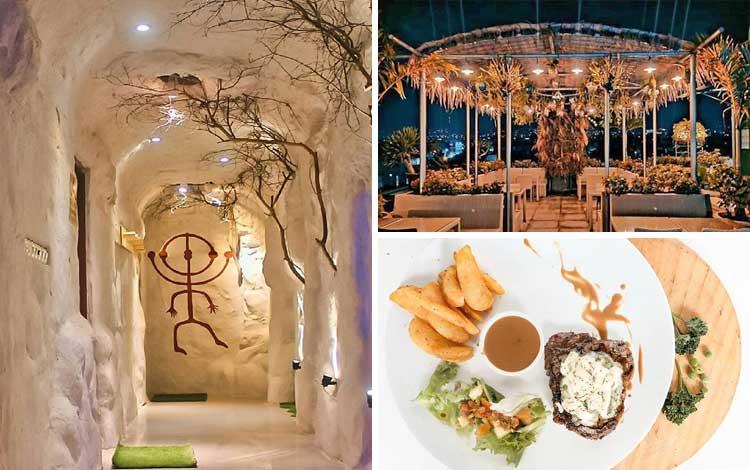 Tempat romantis di Bandung  - Kafe Goldstar 360