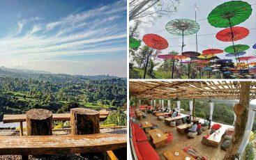Tempat romantis di Bandung - Lereng Anteng Panoramic Coffee