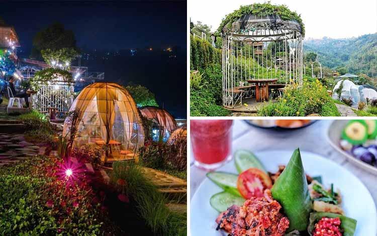 Tempat romantis di Bandung  - Tafso Barn