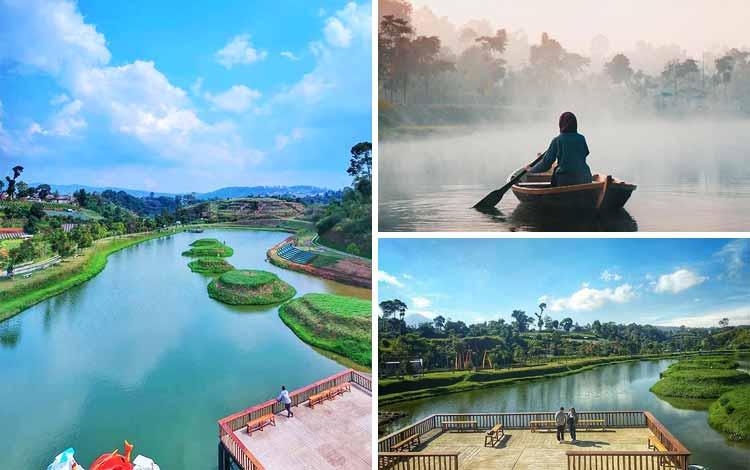 Tempat romantis di Bandung - Taman Lembah Dewata