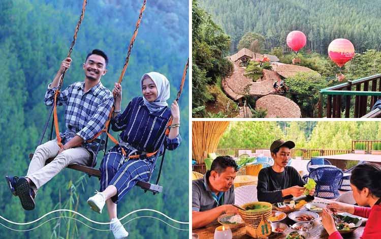 Tempat romantis di Bandung - The Lodge Maribaya