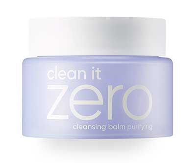Sabun wajah bagus penghilang komedo - Banila Clean It Zero Cleansing Balm Purifying