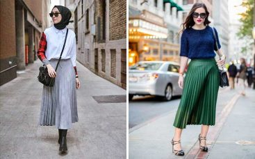 Fashion style kekinian anak muda dengan Pleated Skirt