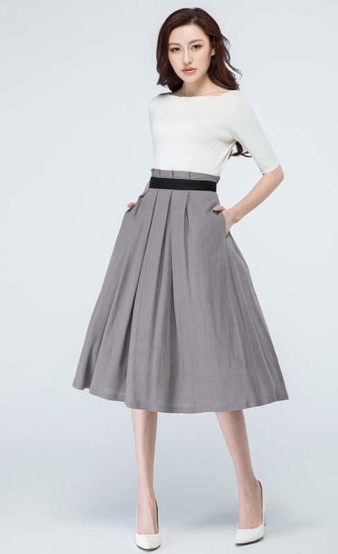 Model rok yang tepat untuk wanita kurus