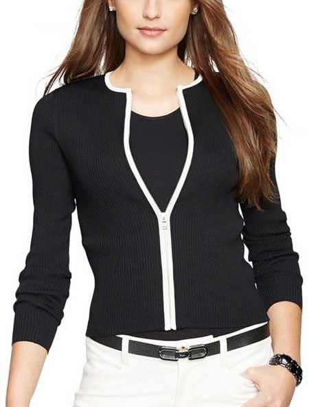 Jenis Cardigan - Zipped Cardigan